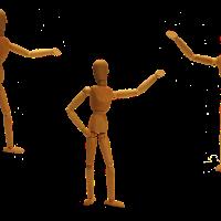 Koordynacja obustronna i przekraczanie linii środka - Trzy koziołki