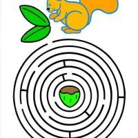Labirynty - koordynacja wzrokowo-ruchowa