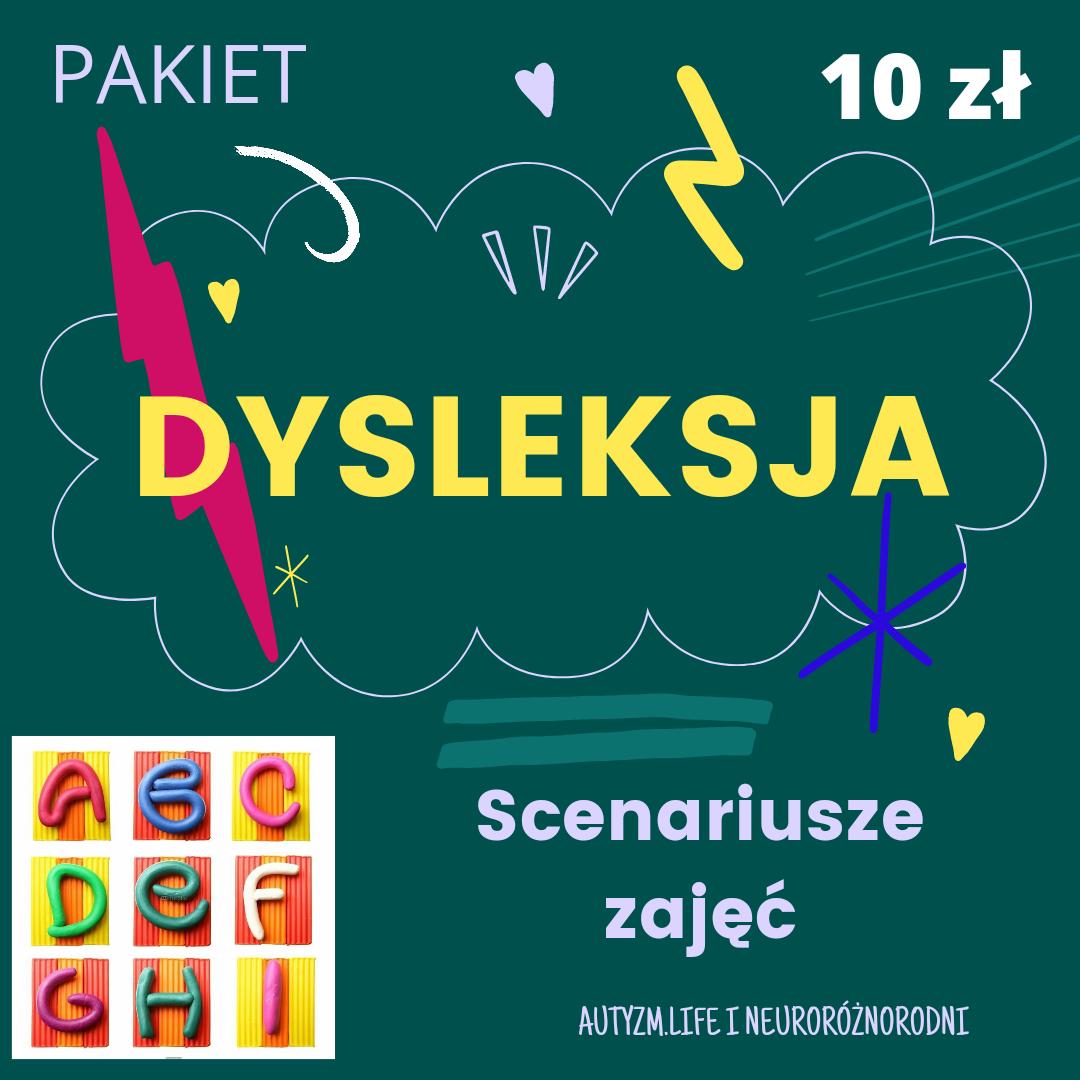 Pakiet Dysleksja. Scenariusze zajęć – 10 zł