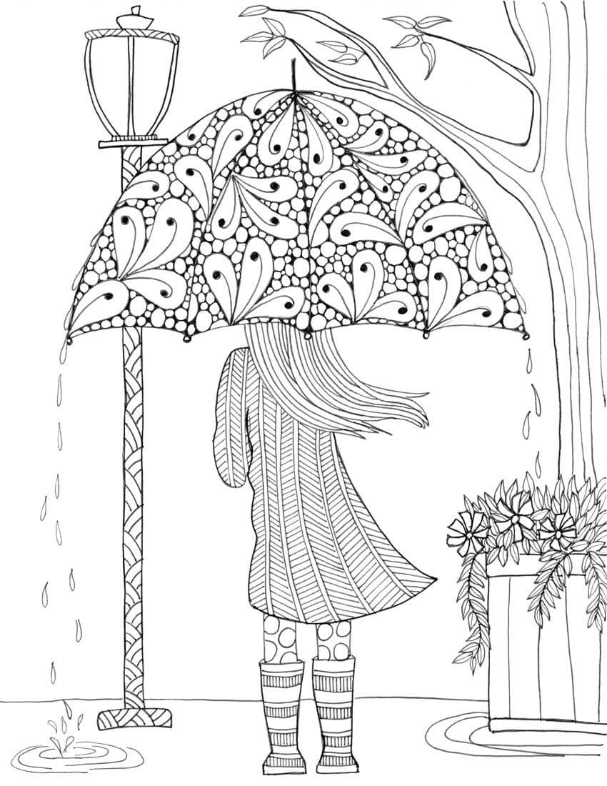 Jesienna pogoda – edukacyjne deszczowe zabawy